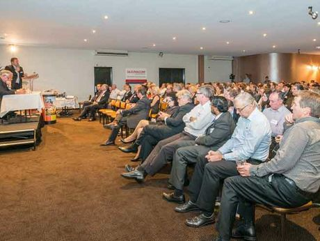 It was a packed house at the Toowoomba and Surat Basin Enterprise's latest enterprise evening.