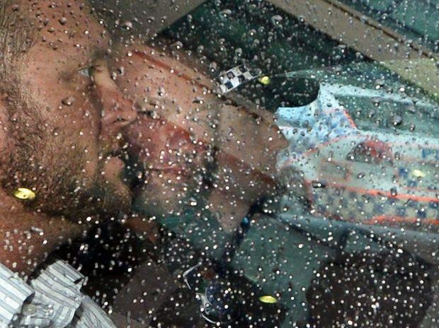 Tony Dwaine Morgan back in custody after his dramatic arrest near Rockhampton.