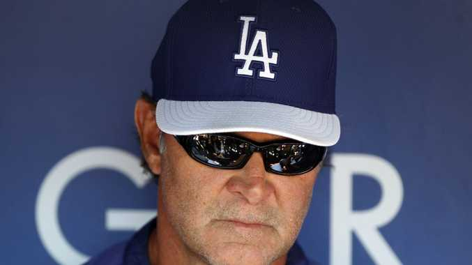 Los Angeles Dodgers manager Don Mattingly.