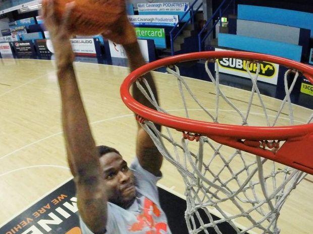 New Rockets recruit Ray Turner. Photo Allan Reinikka / The Morning Bulletin