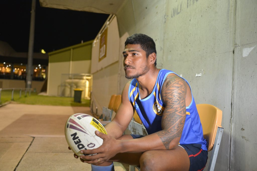 Ha'ofanga Rabakewa, originally from Fiji, was a rugby union player until he arrived in Australia, but quickly developed a love of rugby league.