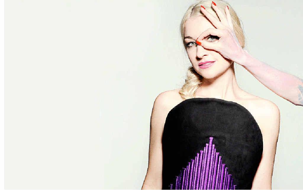 Singer Kate Miller-Heidke.