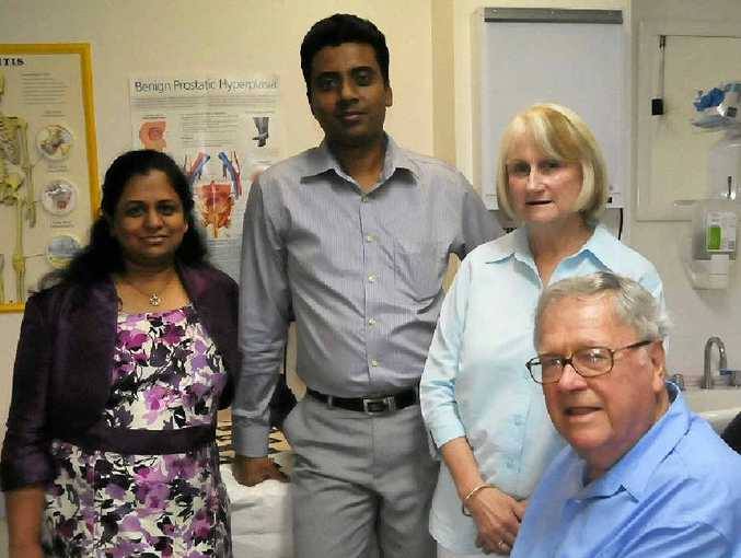 MEDIFIELD: Dr Sarangi Ratnayake, Dr Nishantha Herath, Dr Deanne Anderson and Dr Maurice McGree are the proud co-owners of the Gladstone Valley Medical Centre and Calliope Medical Centre.
