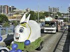 The Gladstone Ports Corporation brought the Easter Bunny out of hibernation for this year's festival parade.