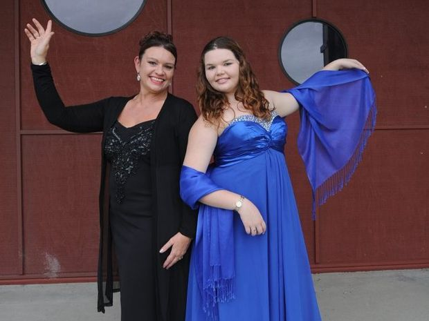 Talented mother and daughter singers, Cherie Landamore-Harper and Nicolette Harper auditioned for an Opera Queensland production.