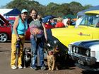 The 8th North Coast Campout, Show and Shine and the Maryborough Showgrounds. Anita Williams and her daughter Zoe with Shilo and Duke. Photo: Robyne Cuerel / Fraser Coast Chronicle