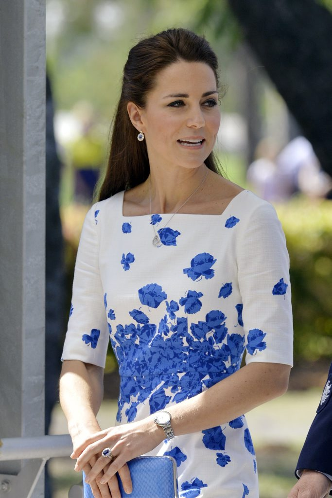 The Duchess of Cambridge Photo: Claudia Baxter / The Queensland Times