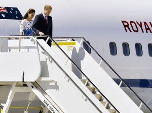 Royals arrive at Amberley