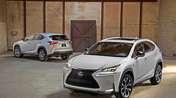 The Lexus NX.