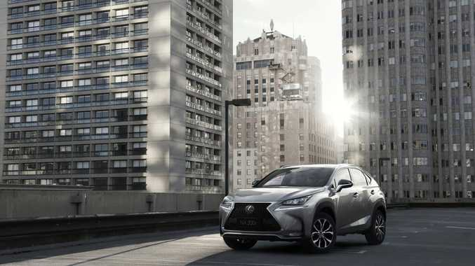 The new Lexus NX.