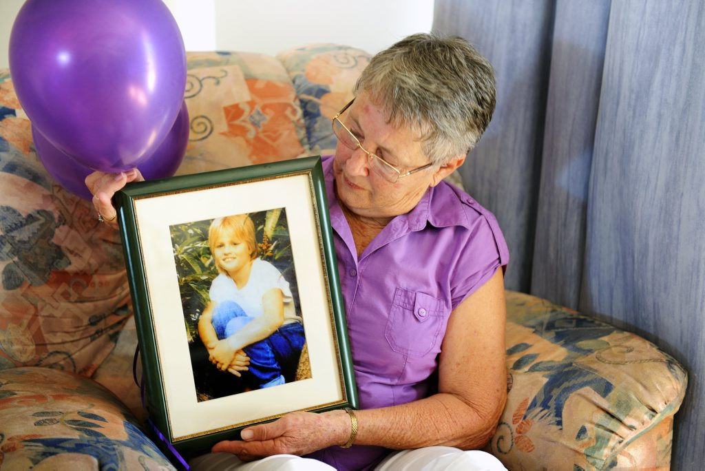Fifteen years have not faded the loving memory of Laurel Steinhardt's great neice, Keyra Steinhardt. Hervey Bay family members will release 15 balloons to mark the anniversary of Keyra's death at the hands of serial killer Leonard John Fraser.