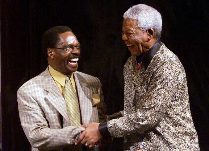 Rubin Carter meeting Nelson Mandela.