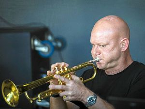 Being on stage with jazz greats a bonus for trumpet star