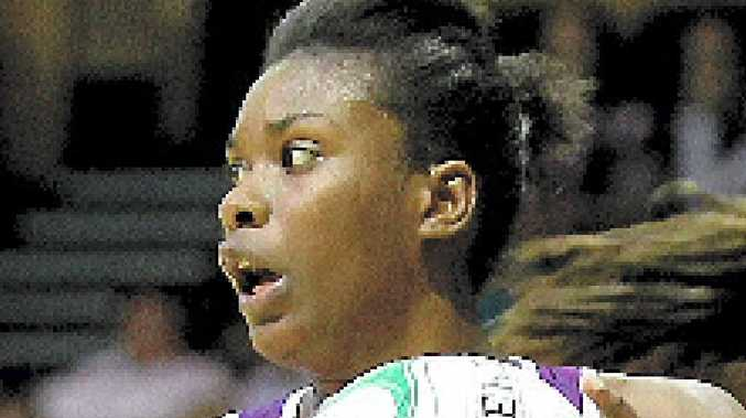 Romelda Aiken hit 35 goals for the Firebirds.