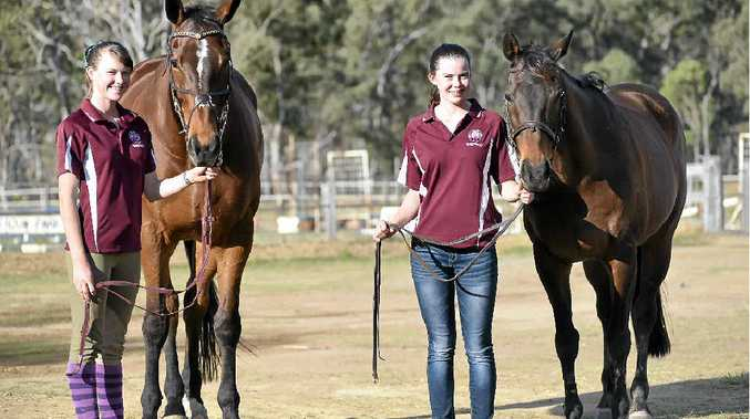 Amy Bradfield and Emily Bradfield were among a group of successful show jumpers representing Zone 21 at the state championships in Yeppoon over the weekend.