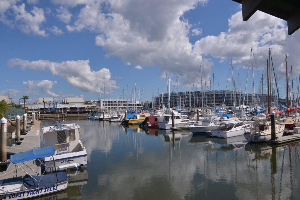Image for sale: Kawana Waters Marina. Photo John McCutcheon / Sunshine Coast Daily
