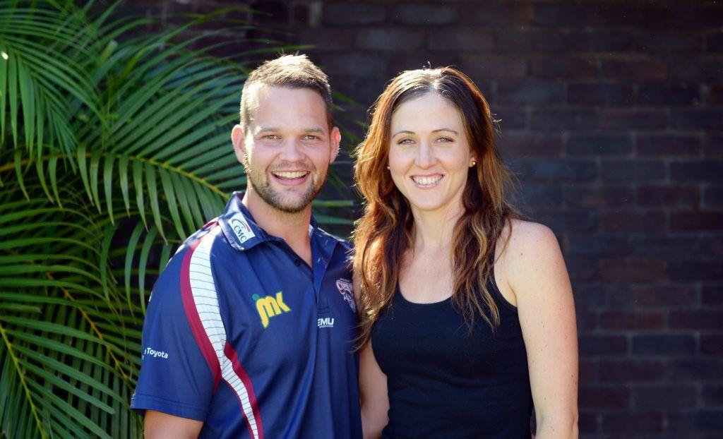 Damien and Zoe Seibold. Photo: Chris Ison / The Morning Bulletin