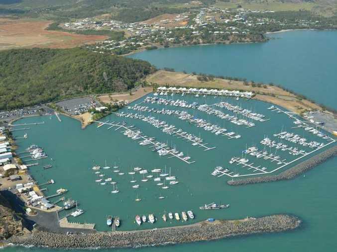 An aerial view of Keppel Bay Marina Photo Keppel Bay Marina