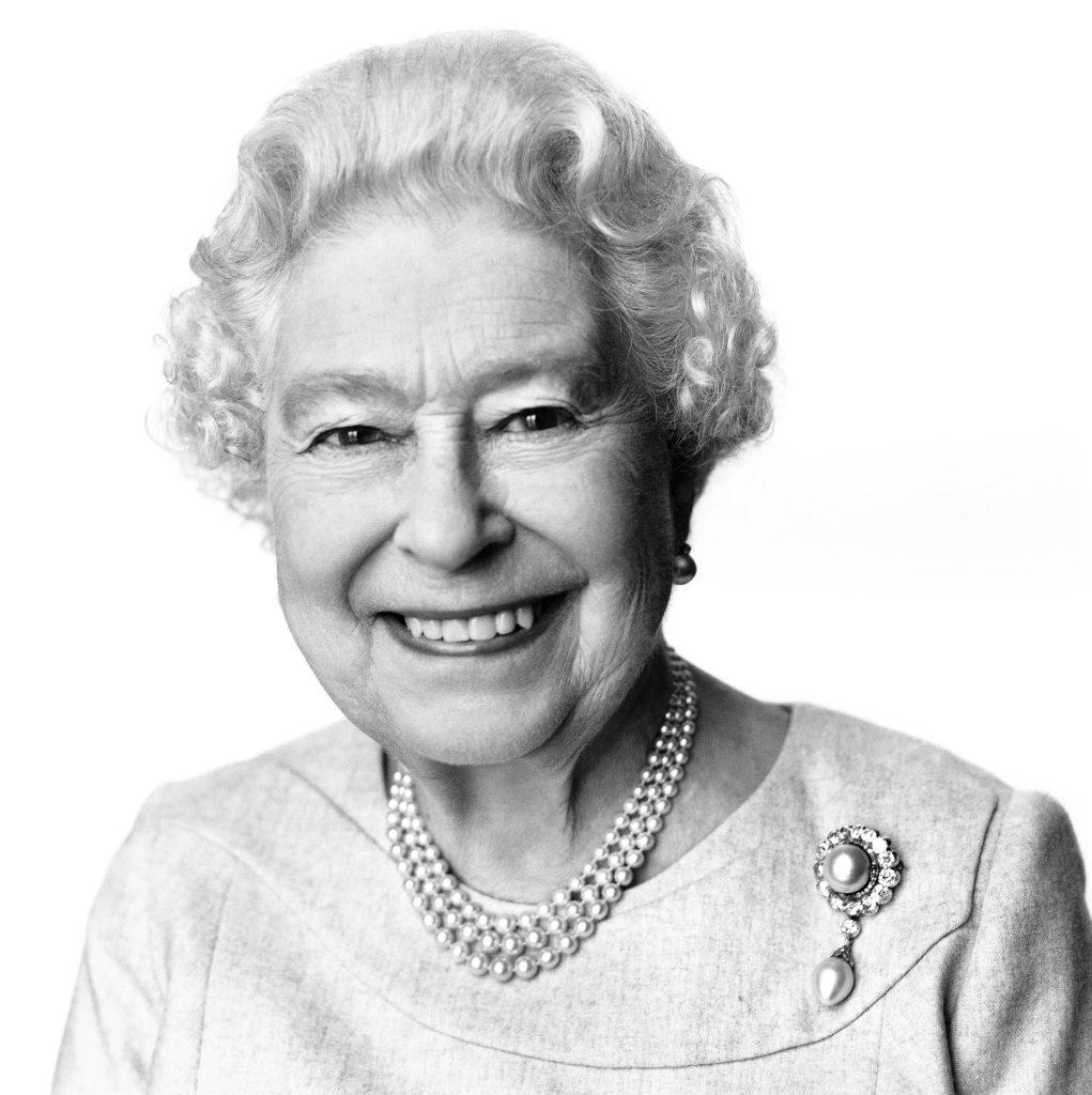This portrait of Queen Elizabeth II.