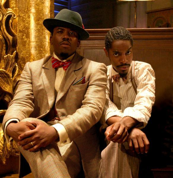 American rap duo Outkast.