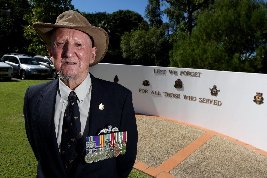 Kevin John Sharpley Australian Air Force Veteran. Photo: Nolan Verheij-Full / Daily News