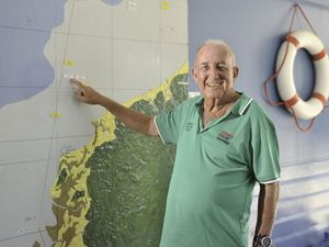Barry has big weekend in office tracking racing yachts