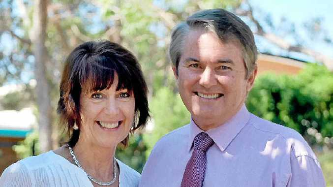 RETIREMENT: Ballina MP Don Page, pictured with wife Liz, has announced he will step down from politics in March next year.