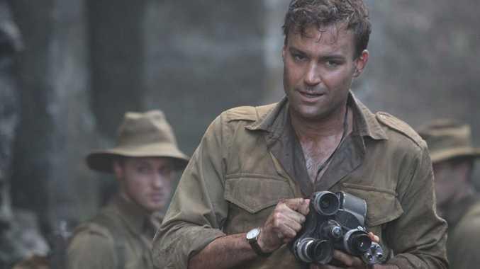 Matthew Le Nevez in a scene from Parer's War.