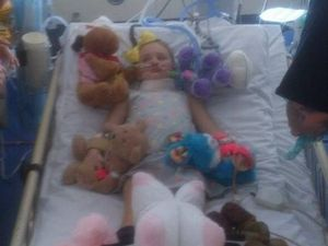 Wilkinson family together at hospital as Abi battles on