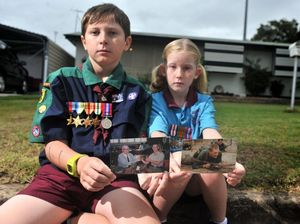 Kids proud to march and remember lost family members