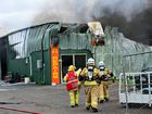 Blaze one more devastating blow for business after floods