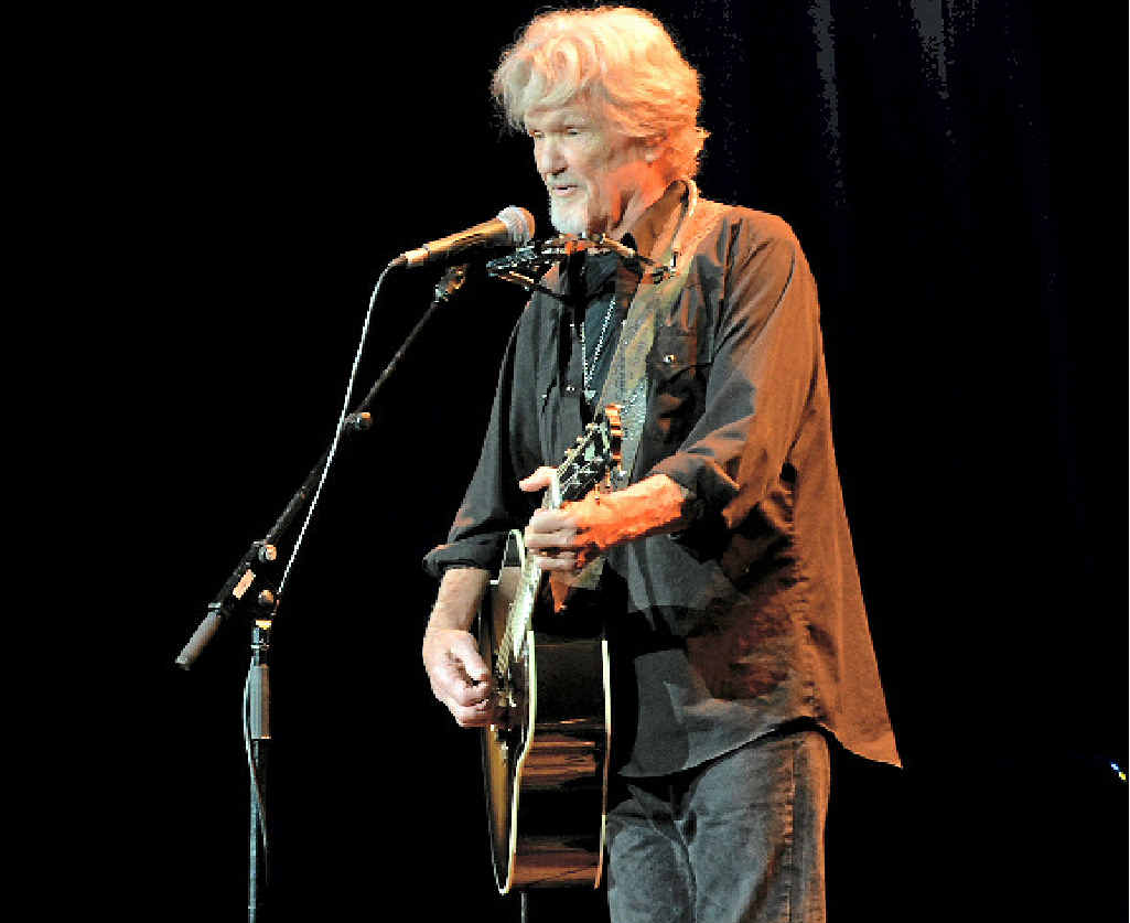 Kris Kristofferson performs at the Gladstone Entertainment and Convention Centre.
