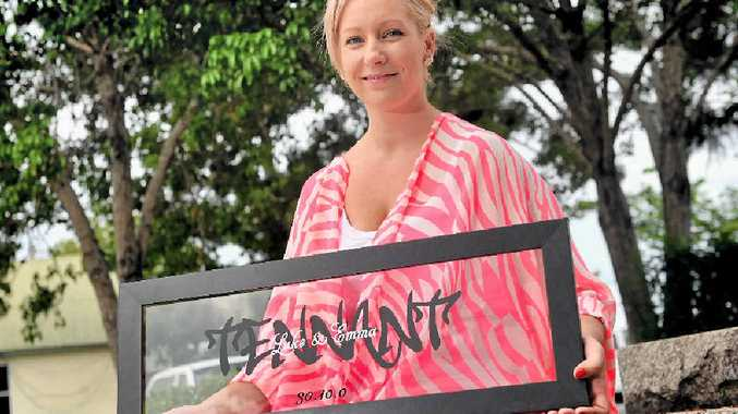 Emma Tennant has started holding stalls at local markets for her business ET's Frame It.