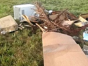 Illegal dumpers not so smart, leave behind name and address