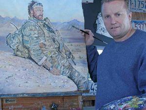 Artist honours our fallen Diggers