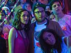 Rose Byrne and Seth Rogen play new parents in Bad Neighbours.
