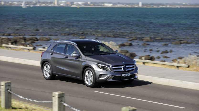 The Mercedes-Benz GLA.