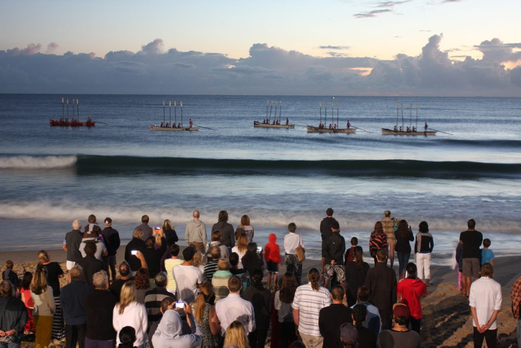 ANZAC Day Mooloolaba dawn service. Photo Kristy Muir / Sunshine Coast Daily
