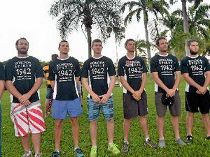 Gladstone men walk Kokoda trail in lead-up to Anzac Day