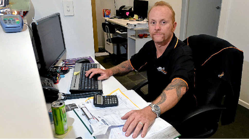 SCAMMED: Jamie Stagg was almost duped by a scammer acting as a Telstra technician.