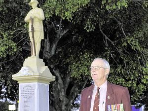Young and old gather at Miriam Vale for solemn service