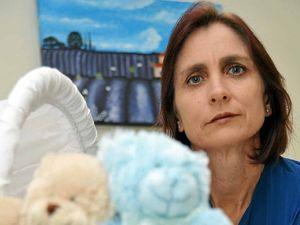 Cot helps parents grieve stillborns