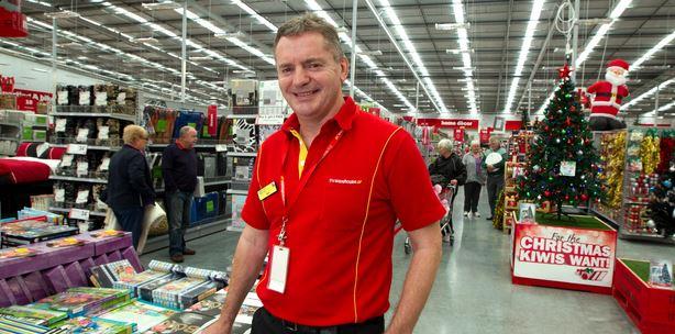The Warehouse chief executive Mark Powell.