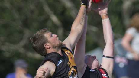 Afl, Toowoomba vs South Toowoomba . Photo Nev Madsen / The Chronicle