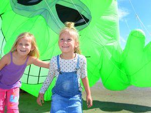 Beach spectacle as kites colour festival