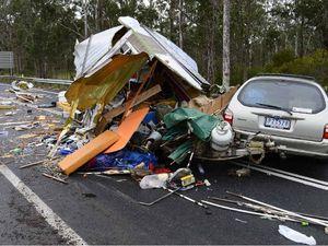 Glenugie Caravan Collision