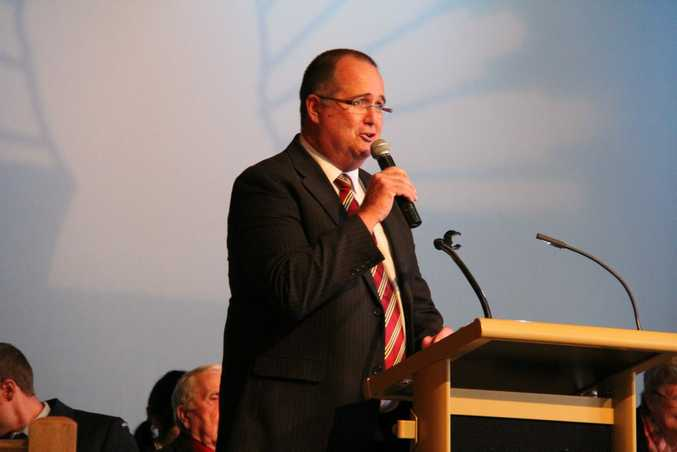 Southern Downs Mayor Peter Blundell