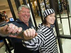 Pollies, real estate agents locked up for a good cause