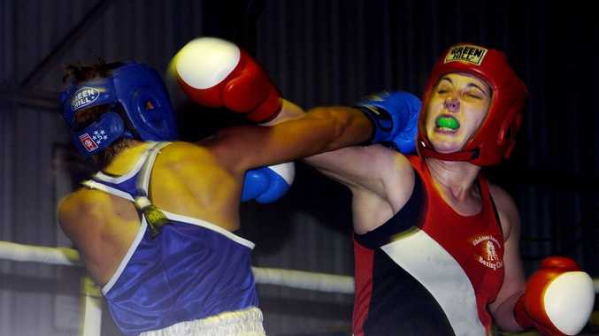 Former Gladstone boxer Emma Curruthers has won another national title, taking her tally to three (Old News Image: 2008). Photo Contributed