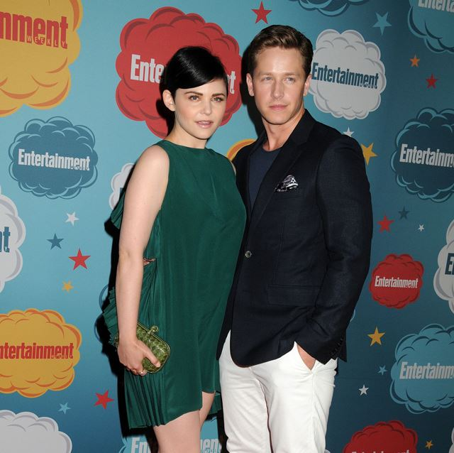 Josh Dallas has been getting ready for his upcoming arrival and has started reading to his wife Ginnifer Goodwin's baby bump.